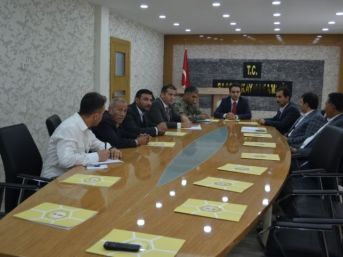 Sason'da Seçim Güvenliği Koordinasyon Toplantısı Yapıldı