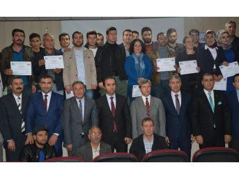 Tatvan'da 150 Kursiyere Girişimcilik Sertifikası Verildi