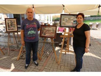 Selçuk'ta Kaat-ı Sanat Sergisi Açıldı