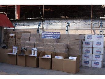 Kahramanmaraş'ta 120 Bin Paket Kaçak Sigara Ele Geçirildi