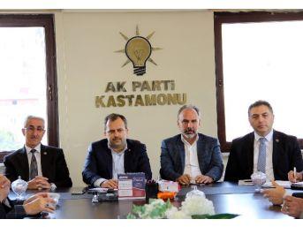 Ak Parti Kastamonu İl Başkanı Av. Halil Uluay;