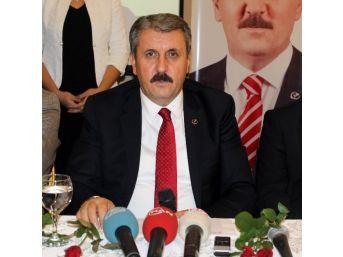 Büyük Birlik Partisi Genel Başkanı Mustafa Destici: