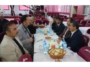 Başkan Tutal, Din Görevlileri İle Bir Araya Geldi