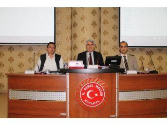 Kütahya İl Genel Meclisi'nin Ekim Ayı Toplantısı