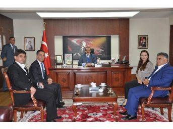 Hdp Milletvekillerinden Vali Yavuz'a Ziyaret
