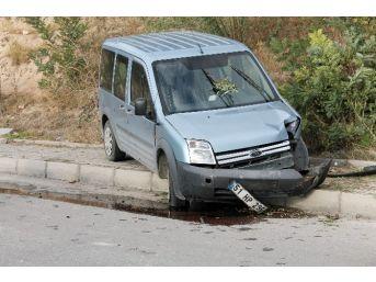 Niğde'de Polis Ekipleri Kaza Yaptı: 2 Yaralı