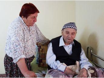 (özel Haber) 115 Yaşındaki Halil Dededen Sağlıklı Yaşam Sırları