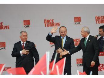 Chp Genel Başkanı Kemal Kılaçdaroğlu Uşak'a Geldi
