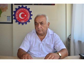 Emekliler Derneği Başkanı Mustafa Sarıoğlu;