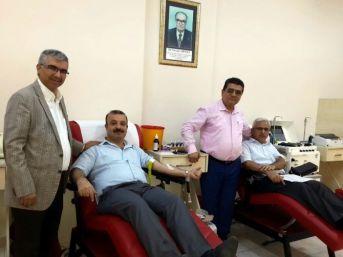 Hakim Ve Savcılardan Kan Bağışı
