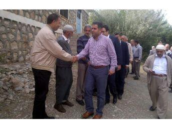 Milletvekili Fırat, Gerger Ve Sincik İlçelerinin Köylerini Gezdi