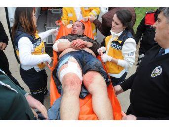 Kocaeli'de Polisi Ağır Yaralayan Şahıs Firar Etti
