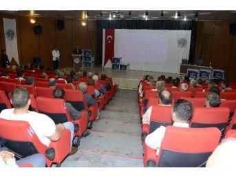 Mersin'de Muhtarlara Verilen Bilgisayar Eğitimi Devam Ediyor
