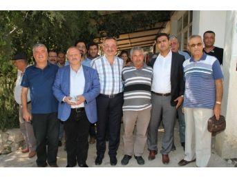Ak Parti'li Hasan Özyer, Milas'ta Halkla Buluştu
