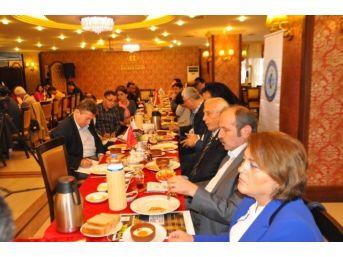 Satso Başkanı Mahmut Kösemul Değerlendirme Toplantısı Düzenledi