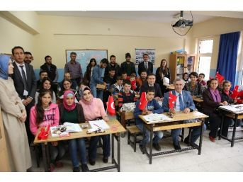 Arü'den Kardeş Süngülü İlköğretim Okulu'na Ziyaret