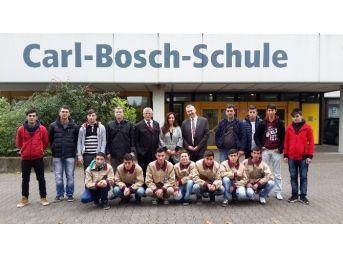 Gediz Mesleki Eğitim Merkezi Öğrencileri Almanya'dan Döndü