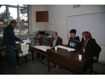 Afyonkarahisar'da Oy Verme İşlemi Başladı