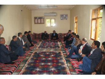 Haşimi Köy Ve Mezra Ziyaretlerini Sürdürüyor