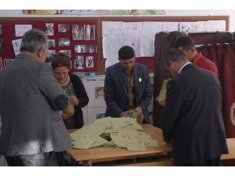 Eskişehir'de Oy Sayımı Başladı