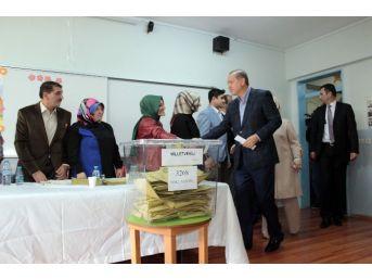 Cumhurbaşkanı Erdoğan Oyunu Saffet Çebi İlkokulu'nda Kullandı