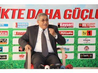 Mhp Kayseri Milletvekili Hasan Ali Kilci: