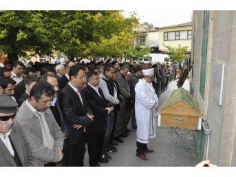 Tbmm Başkanı Yılmaz Gürün'de Cenaze Törenine Katıldı