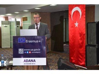Adana'da Erasmus Plus Bilgilendirme Toplantısı Yapıldı