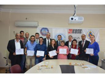 Kozan'da Dış Ticaret Eğitimi