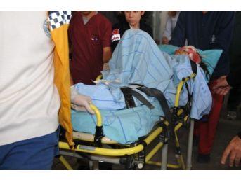 Patlamada Yaralanan İki Çocuk Van'a Götürüldü