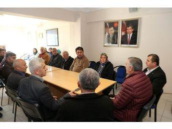 Toçoğlu, Tebrik Ziyaretlerini Kaynarca'da Sürdürdü