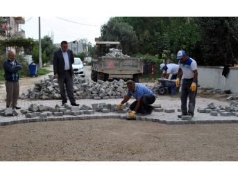 İncirliova'da Hedef 300 Bin Metrekare Parke Taşı