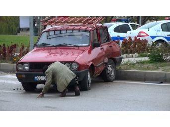 Sungurlu'da Trafik Kazası: 4 Yaralı