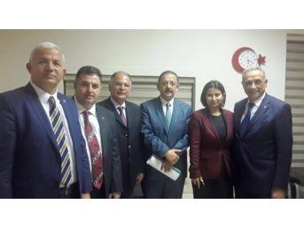 Başkan Badem, Bütünşehir İle İlgili Sıkıntıları Ankara'ya Taşıdı