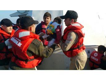 İki Günde 161 Sığınmacı Denizde Boğulmaktan Kurtarıldı