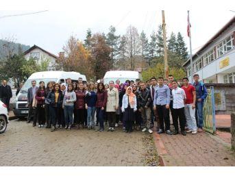 Azdavay Lisesi Öğrencilerine Gezi