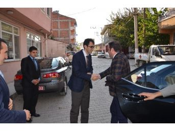 Taşköprü Kaymakamı Coşkun'dan Karadaş'a Hayırlı Olsun Ziyareti