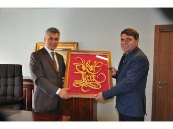 Kaymakam Arıcan'dan Türkiye'nin En Büyük Termal Oteline Ziyaret