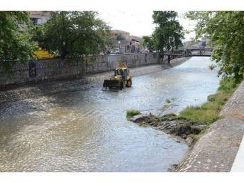Asar Suyu Deresinde Temizlik Çalışmaları Başlatıldı