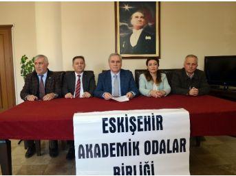 Eskişehir Akademik Odalar Birliği Kentte İstinaf Mahkemesi Kurulmasını İstedi