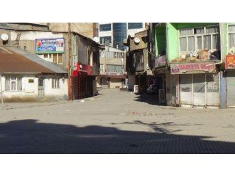 Yüksekova'da Sokağa Çıkma Yasağı Devam Ediyor