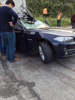 Mmk Metalurji Genel Müdürü, Trafik Kazasında Ağır Şekilde Yaralandı