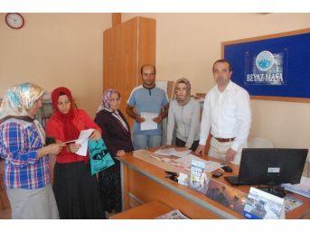 """Taşköprü Belediyesi'nde """"beyaz Masa"""" Hizmeti Başladı"""