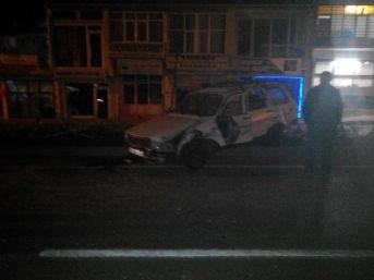 Tomarza'da Trafik Kazası