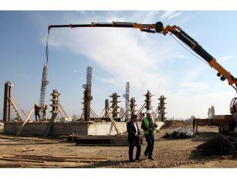 Başkan Tutal, Atık Su Arıtma Tesislerinde İncelemelerde Bulundu