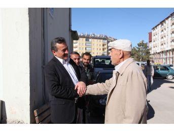 Başkan Tutal'dan Esnaf Ziyareti