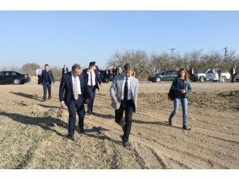 Urganlı'da İtfaiye Alanı Yükseliyor