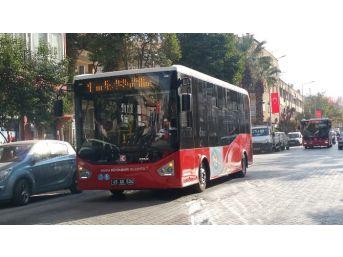 Yeni Toplu Ulaşım Araçları Turgutlu'da