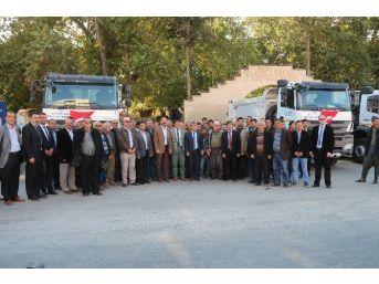 Mut Belediyesi'ne 6 Yeni Araç Alındı