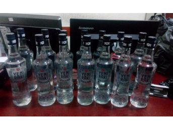 Rize'de Sahte İçki Operasyonu